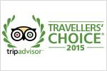 Sandai Travellers Choise Award 2015 TripAdvisor